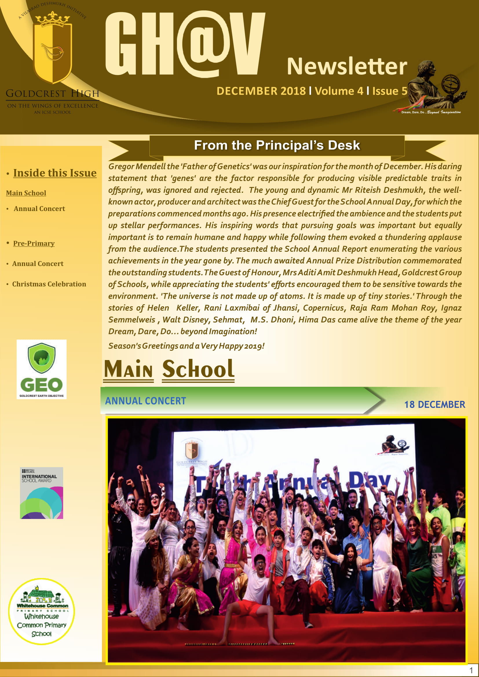 Goldcrest High Vashi